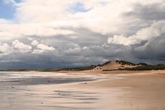 27 June 2008 (Copperhobnob) Tags: sea sunlight storm beach clouds landscape sand aberdeenshire photobook bluesky fave explore thisone sanddunes stormclouds fraserburgh abigfave hpad poty13l