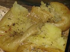 Batatas logo após o murro