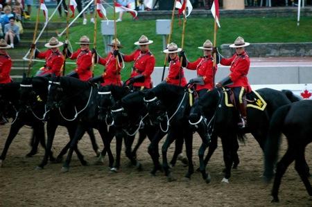 RCMP sunset ceremonies
