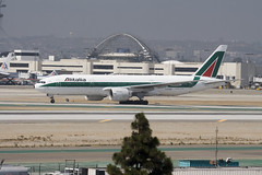Boeing 777-243/ER (dickbrain99) Tags: aviation jets airplanes planes boeing lax airlines alitalia civilaviation 777243er idise