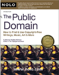 Public Domain Book by Nolo Press