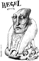 HEGEL, Georg Wilhelm Friedrich (Morales de los Ros) Tags: writers caricaturas philosophers caricatures escritores filsofos