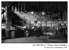 Home Alone.... (Black Theory) Tags: leica travel boy home thailand iso800 push wakeup ilford blackdiamond delta400 352asph summicron352asph bwartaward goldstaraward ratchaburee