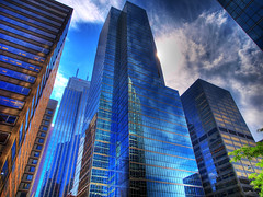 glass, steel, sky (paul bica) Tags: pictures city blue sky toronto hot color colour art glass colors beautiful beauty clouds digital photoshop buildings photography photo yahoo google amazing graphics pix exposure flickr colours skyscrapers image photos pages pics top steel picture pic images best collection photograph clipart thumb sensational thumbnails msn flikr brilliant flick hdr dex flicker baystreet screensavers dexxus 20080714casaloma094