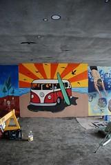 DSC_0871 (Kurt Christensen) Tags: art beach painting mural surf thrust gilgobeach gilgo