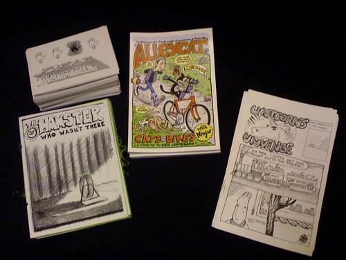 comics and zines, oh my