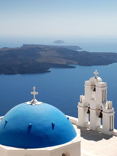 Blue-domed church (Santorini)