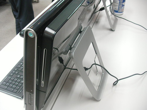 HP TouchSmart PC IQ500側面