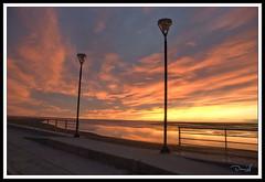 Portal de un nuevo dia / Gateway to a new day (DaNieL TDF) Tags: patagonia argentina del sunrise tierradelfuego amanecer fuego reflexions riogrande tierra potofgold d80 nikond80 retofotografico danieltdf