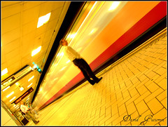 London Underground Train Movement and Perspective (david gutierrez [ www.davidgutierrez.co.uk ]) Tags: life city uk travel light red people urban color london colors westminster yellow architecture train underground subway spectacular lights photo movement long cityscape shadows image metro centre transport tube perspective platform tracks cities cityscapes center finepix londres wait fujifilm sensational metropolis locomotive londonunderground passenger londra impressive municipality railtrack cites passengertrain lifeunderground undergroundtrain s6500fd s6000fd fujifilmfinepixs6500fd