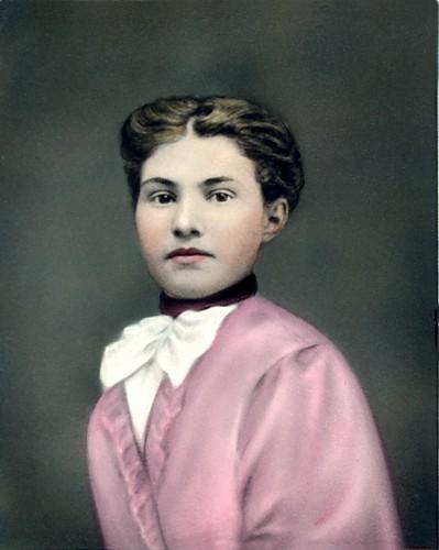 Magnolia Elizabeth Todd Lowman, ca. 1890