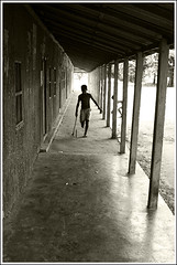 Friday Schooling [..Manikganj, Bangladesh..] (Catch the dream) Tags: school light boy vacation bw game backlight children blackwhite pattern village child play action bongo joy wide corridor run row ring repetition bengal bangladesh bangla backlighting bengali bangladeshi pillers bangali jeal aplusphoto gettyimagesbangladeshq2
