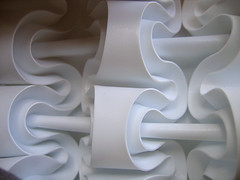 Paper Sculpture: Curves Iterated (polyscene) Tags: shadow sculpture white art geometric plane paper paperart design 3d origami pattern bass low surface relief polly folded fold curve curved poly bas score crease tessellation surfaces basrelief curvature verity papersculpture threedimensional polypropylene onesheet lowrelief bassrelief craftrobo nocuts graphtec developable polyscene pollyverity developablesurface curvedfold papersculptures 3dpattern foldedcurves 3dsurface 3dtilepattern 3dfoldedpattern 3dlowreliefpattern foldedpattern foldedtessellation sculpturalsurfaces