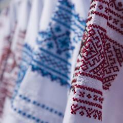 Ukrainian stitchcraft /   (Tr@mb) Tags: bells fair ukraine a700   sorochinskaya   sorochintsy