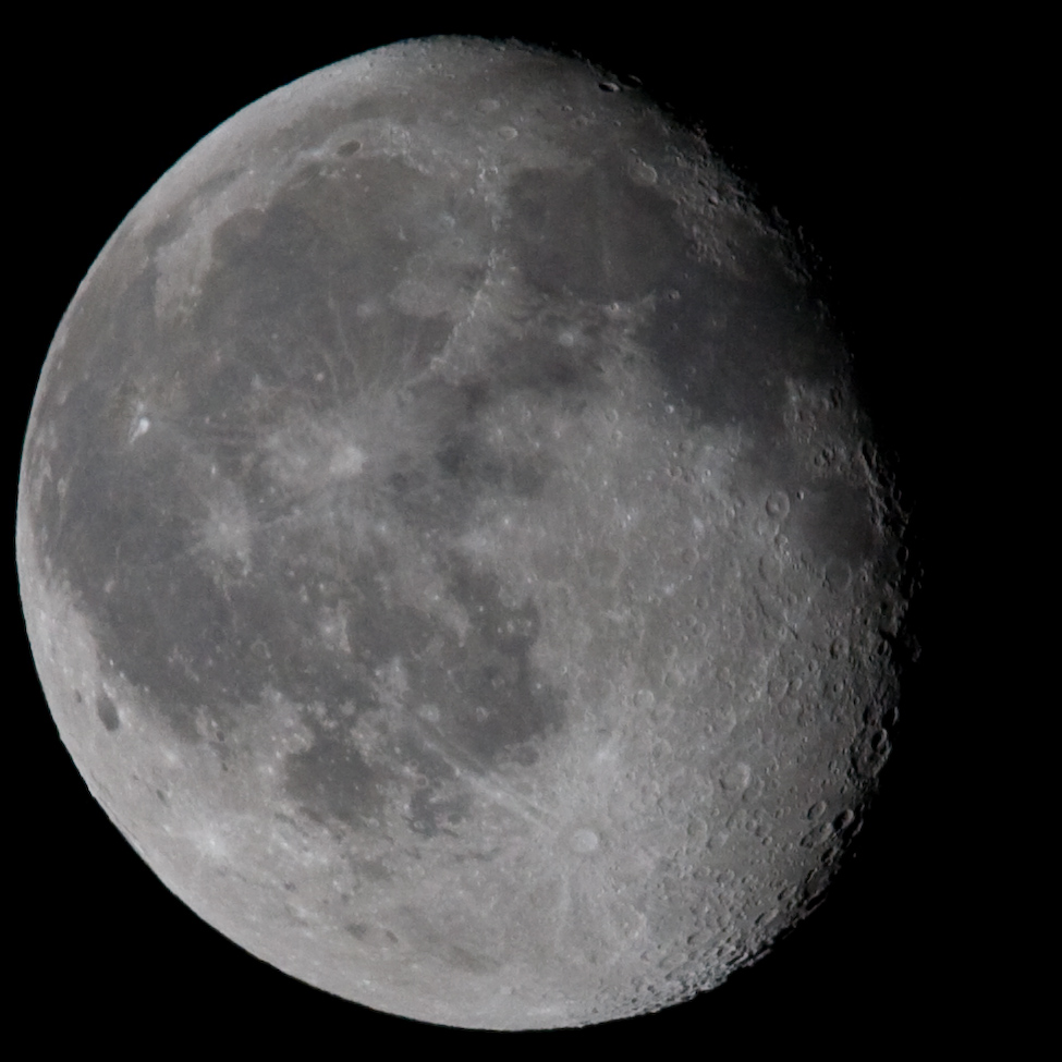 Moon at 840mm