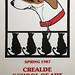Susan Hudson (Vey):  Crealdé 1987 Screenprint of Lucille and Mischief