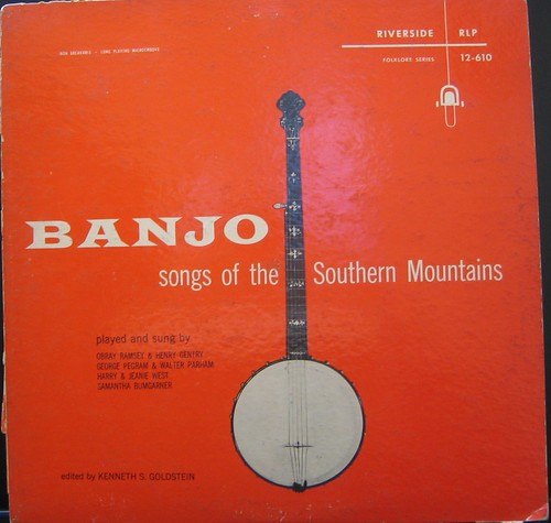 Banjo Songs Of The Southern Mountains LP 1955