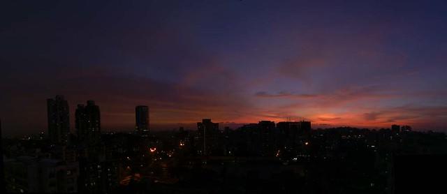 goregaon-sunset