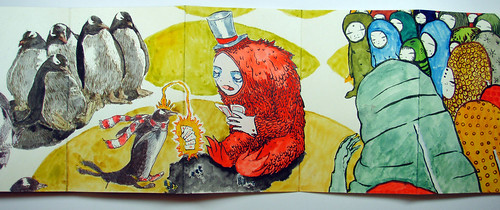 Penguins and poker for Moleskine_x_6