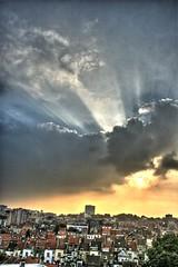 Surreal ray of light