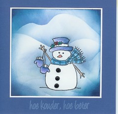 Koud h? (Stempeldoos) Tags: sneeuwpoppen