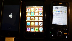 iPhone 3G + iPod Touch + Nokia N81