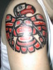 Haida Bird Tatto