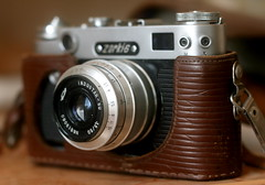 Things: Zorki 6 (3,5/50) photo camera (Basil Gloo) Tags: zorki camera old 50mm photo dof gear soviet rare industar zorki6
