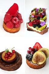tarts, tarts, tarts (cannelle-vanille) Tags: berries plums tarts figs rosewater cleaningthefreezer chocolatefrangipane chocolatepuffpastry vanillamousseline