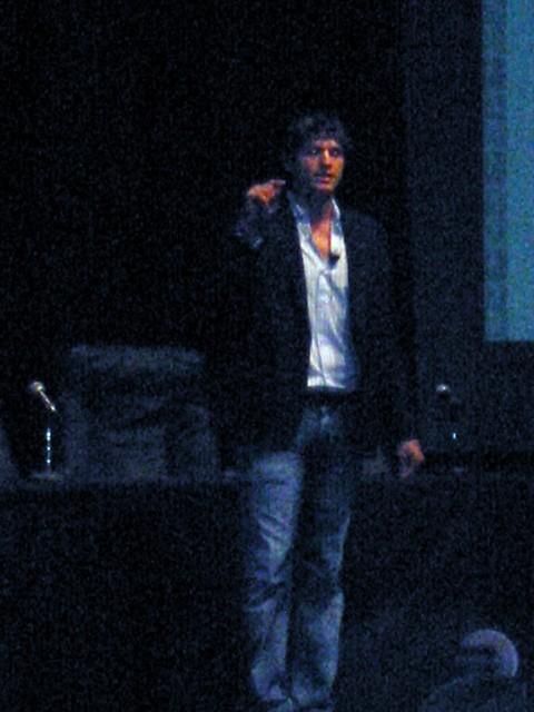 Ashton Kutcher Gives The Blah, Blah Blah Pitch by alexhwilliams