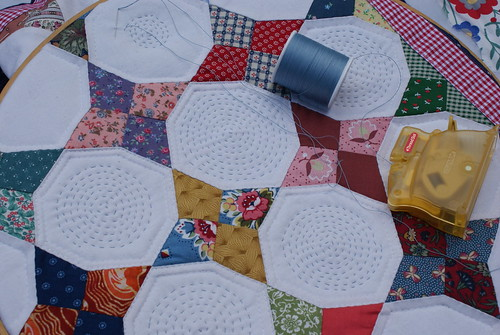 quilting in circles