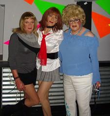 Friends of Triangles Party 092008 (Elizabeth Heatherton) Tags: tv cd tgirl tranny transgendered crossdresser transvetite