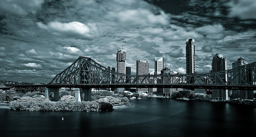 Infrared photography taken at Wilsons Outlook before Riverfire this year