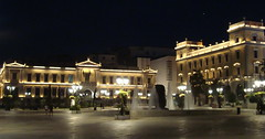 Plateia Kotzia, Athens (twiga_swala) Tags: old architecture square greek cityhall central bank headquarters center athens greece national cultural neoclassical neoclassic plateia kotzia nbg
