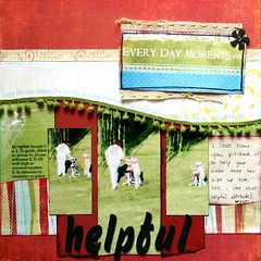 Every day moments - helpful