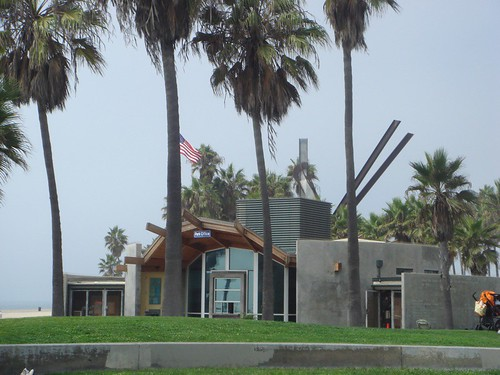 Police Station on Venice Beach