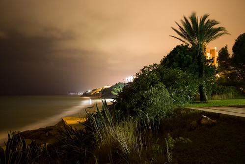Miami Platja bei Nacht