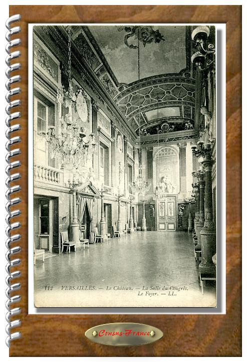 112 - VERSAILLES - Le Chateau  La salle du congrès