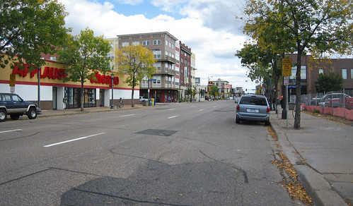 Lake Ave in Uptown, Minneapolis