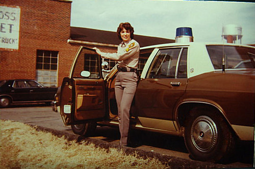 Deputy 1976 Catawba county N.C.. The First Female Catawba County Deputy.