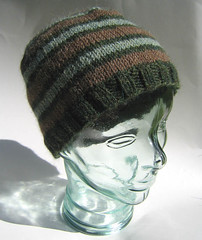 Green alpaca stripe 1