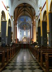 Towards Jesus (rene1956 (Burning the Midnight Lamp)) Tags: light maastricht basilica jesus holy holylight saintservais sintservaes
