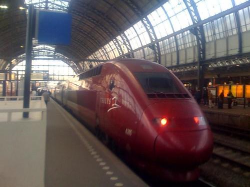 Antwerpen Centraal Railway Station. Centraal train station in
