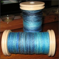 Deep Blue Sea, 2 bobbins full