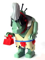 Granny Troll (Karf Oohlu) Tags: lego troll oldlady femaletroll