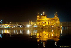 GOLDEN TEMPLE(NIGHT VIEW-2) (manumint-[BUSY]) Tags: india punjab amritsar sikhism goldentemple northindia abigfave