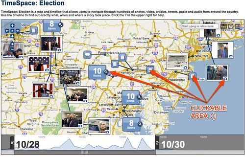 washingtonpost.com - TimeSpace: Election by you.