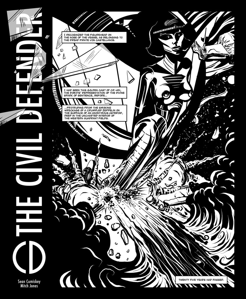 THE CIVIL DEFENDER - Page One