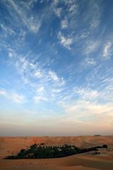 (AL.afra ~ AD <3 ~) Tags: blue sky love home sunrise dawn for heart uae s abudhabi u liwa a al3afra