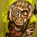 Three Monkeys Face Paint Mini Movie! por hawhawjames